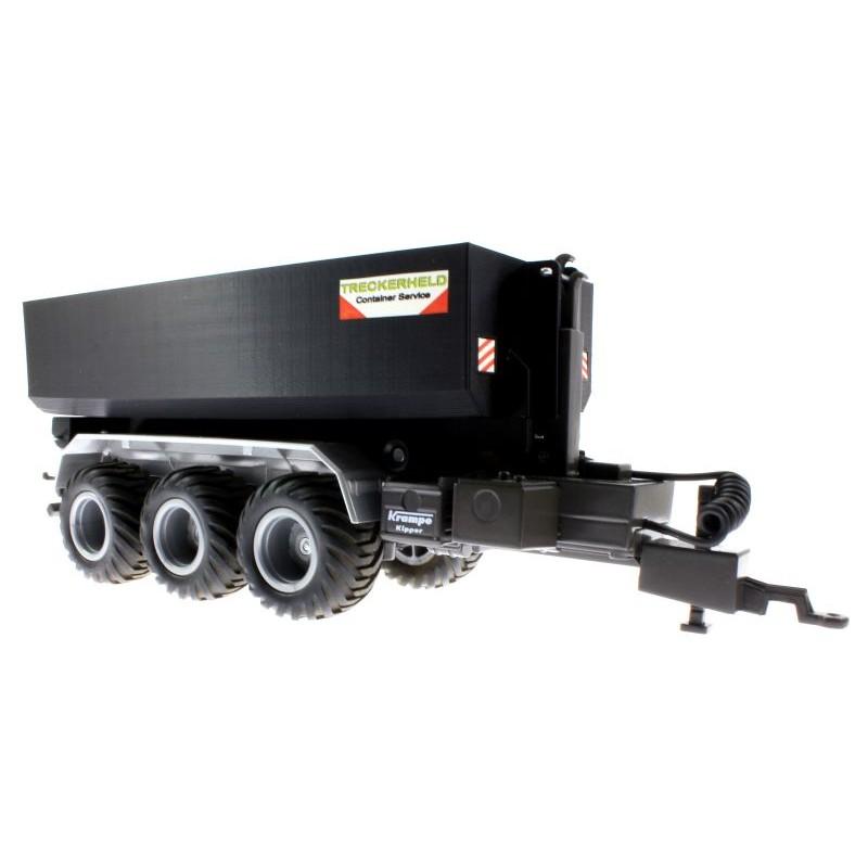 mulden container für siku control 32 krampe hakenlift 6786