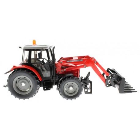 Siku 3653 – Traktor Massey Ferguson 894 mit Frontgabel
