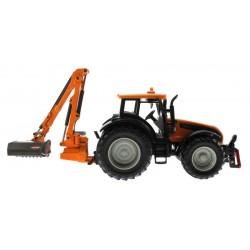 Siku 3659 – Traktor Valtra mit Kuhn Böschungsmähwerk