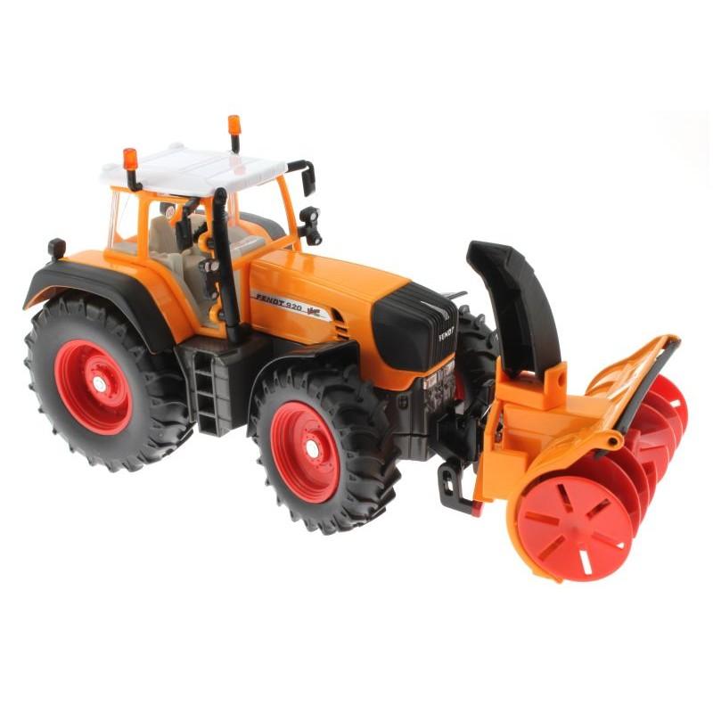 siku 3660 traktor fendt 920 vario mit schneefr se schmidt. Black Bedroom Furniture Sets. Home Design Ideas