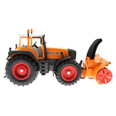 Siku 3660 – Traktor Fendt 920 Vario mit Schneefräse Schmidt