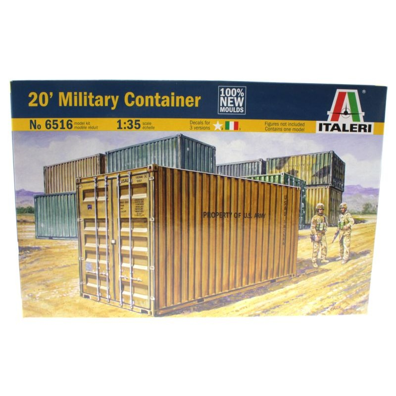 20 fuss container von italeri 6516 1 35 bausatz. Black Bedroom Furniture Sets. Home Design Ideas