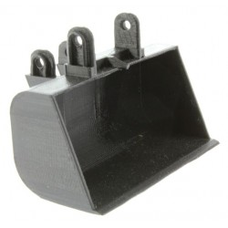 Breitlöffel Schaufel für Siku Control Bagger (6740)