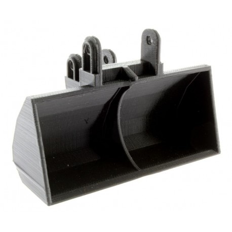 Humus-Löffel für Siku Control 32 Liebherr Bagger 6740