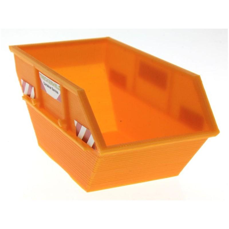 absetzmulde 1 32 container f r siku baustelle und control 32. Black Bedroom Furniture Sets. Home Design Ideas
