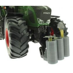 Werkzeugtonne 3-Fach für Siku Farmer und Control 32 Traktoren 1:32