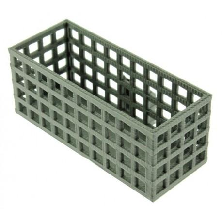 Lange Gitterbox für Treckerheld Abroll-Plattform 1:32