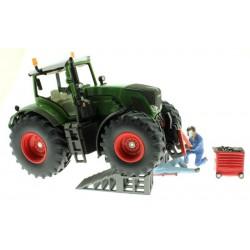Werkstatt Rampe für Siku Control und Farmer Traktoren 1:32