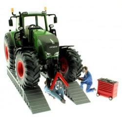 Werkstatt Rampe Lang für Siku Control und Farmer Traktoren 1:32