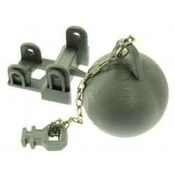 Abrisskugel für Siku Control 32 Liebherr Bagger 6740