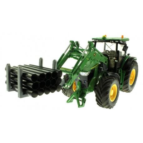 Rohr Transport Gestell für Control 32 Frontlader Traktoren