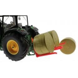 Heck Doppel-Ballengabel für Siku Traktoren 1:32