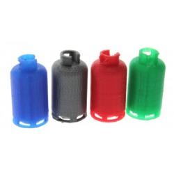 4 Gasflaschen - 11kg 1:32