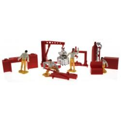 Farm Mechaniker und Zubehör Set 1:32 - Brushwood TOYS BT3043