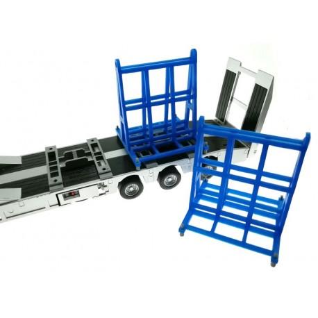 Tieflader-Halter für Doppel-Transportgestell