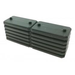 Plattengewicht Plates für Claas Xerion 5000 Siku Control 32 (6791,6794)