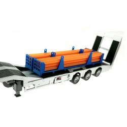 Halterung für Rohr-Transportgestell für Siku LKW Tieflader 1:32