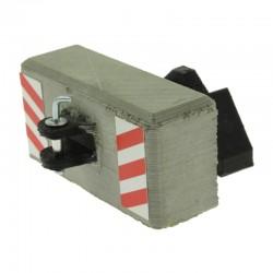 Beton Gewicht mit Kupplung für Siku Traktoren 1:32