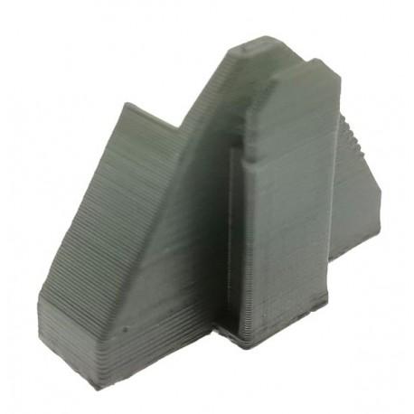 Adapter Abrollplattform-Zubehör am Frontdreieck für Siku Traktoren 1:32