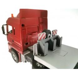 Adapter Abrollplattform-Zubehör auf Siku Control32 LKW Tieflader 6721, 6723