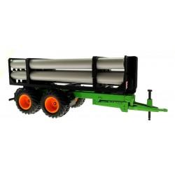Rohr-Transport Anhänger für Siku Traktoren 1:32