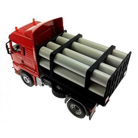 Rohr-Transportaufsatz für Siku Control32 LKW Scania und MAN