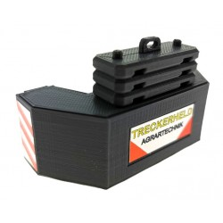 Gewicht Blaster für Claas Xerion 5000 Siku Control 32 (6791,6794)