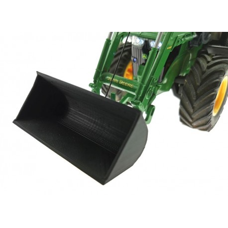 Ersatz-Schaufel schwarz für Siku Control 32 Traktoren mit Frontlader