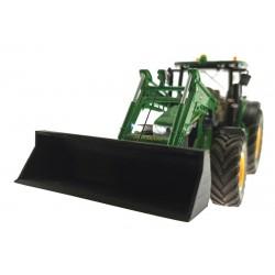 Breit-Schaufel schwarz für Siku Control 32 Traktoren mit Frontlader