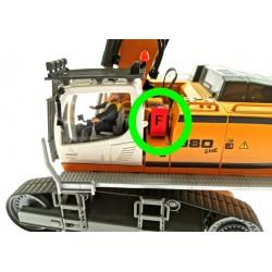 Feuerlöscher-Box für Siku Control 32 Liebherr Bagger 6740