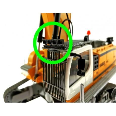 Arbeitsscheinwerfer für Siku Control 32 Liebherr Bagger 6740
