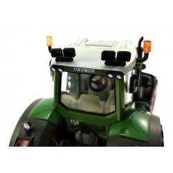 Dach Arbeitsscheinwerfer 2x 2-Fach für Siku Farmer Traktoren 1:32