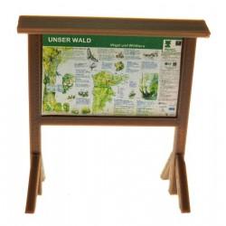 Informationstafel unser Wald 1:32
