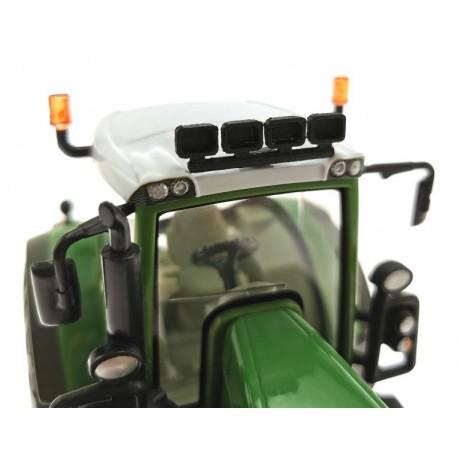 Dach Arbeitsscheinwerfer 4-Fach für Siku Farmer Traktoren 1:32