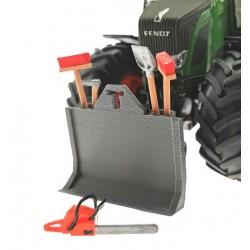 Forstschild Front mit Werkzeughalter für Siku Traktoren 1:32