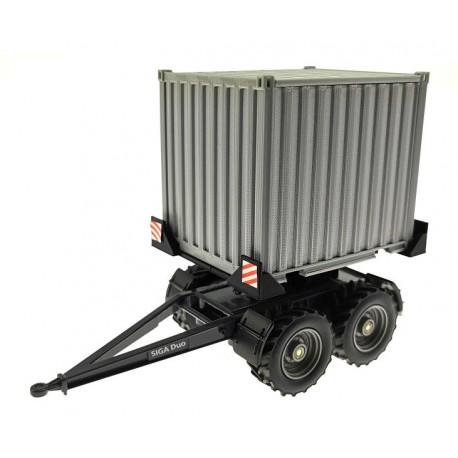 10 Fuss Container-Aufsatz für Siku Dolly Siga-Dou (2887) 1:32