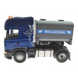 Milchfass-Aufsatz für Siku Control32 LKW Scania, MAN oder Volvo