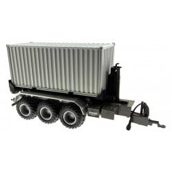 20 Fuss Container Aufsatz für Siku Control 32 Krampe Hakenlift (6786)