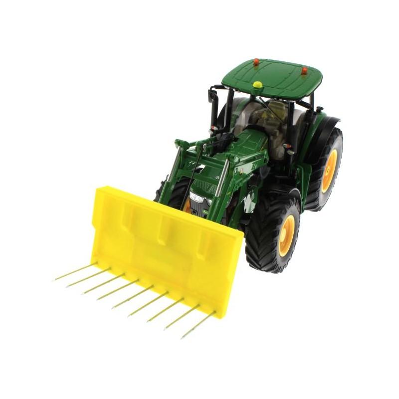 silagegabel f r siku control 32 traktoren mit frontlader. Black Bedroom Furniture Sets. Home Design Ideas
