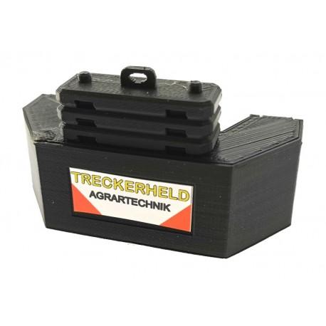 Gewicht Blaster für Siku Traktoren 1:32