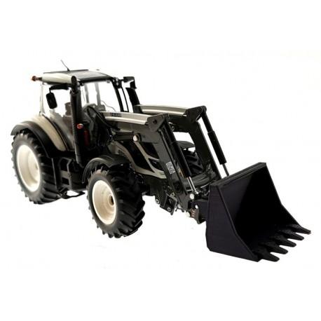 Mistschaufel für Wiking Traktoren mit Frontlader 1:32