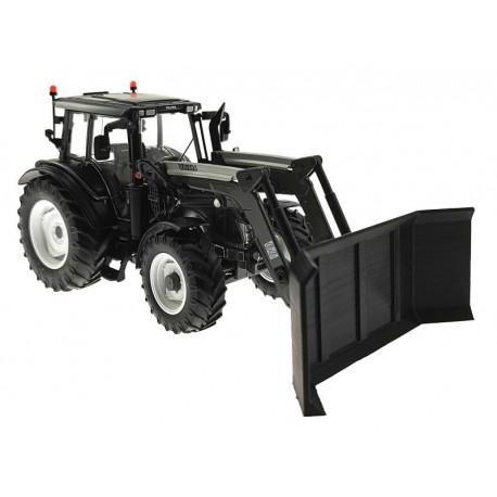 Räum- und Schiebeschild Jumbo für Wiking Traktoren mit Frontlader 1:32