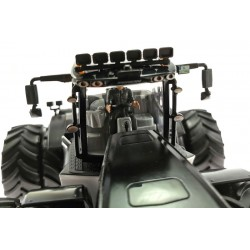Dach Arbeitsscheinwerfer 6-Fach für Claas Xerion 5000 Siku Control 32 Schwarz (6799)