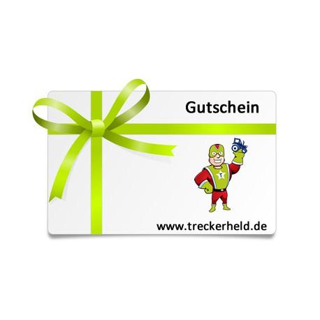 Treckerheld Geschenk Gutschein