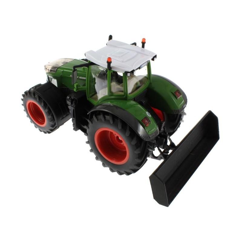 schiebeschild für siku traktoren mit frontdreieck 132